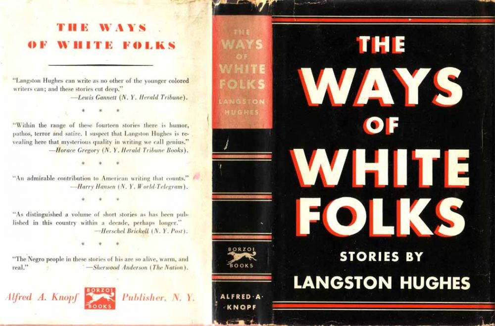 The Ways Of White Folks By Langston Hughes On Yesterdays Gallery And Babylon Revisited Rare Books