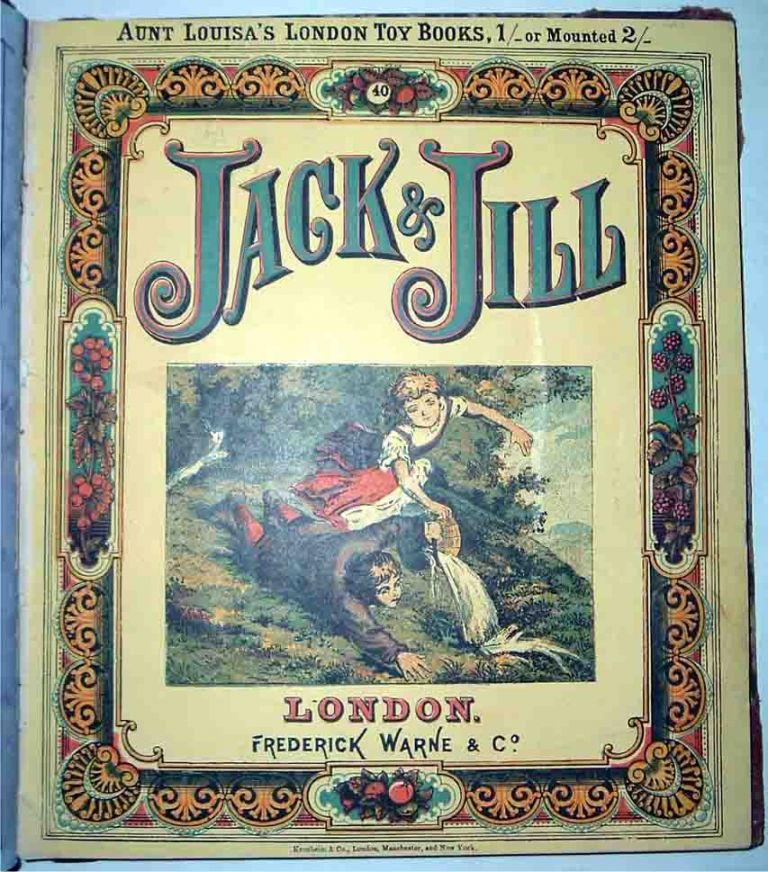 Aunt Louisa's London Toy Books: Dick Whittington, Jack and Jill, Railway A. B. C. and John...