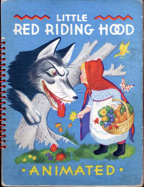 Little Red Riding Hood. (MOVING PARTS BOOK). Julian WEHR