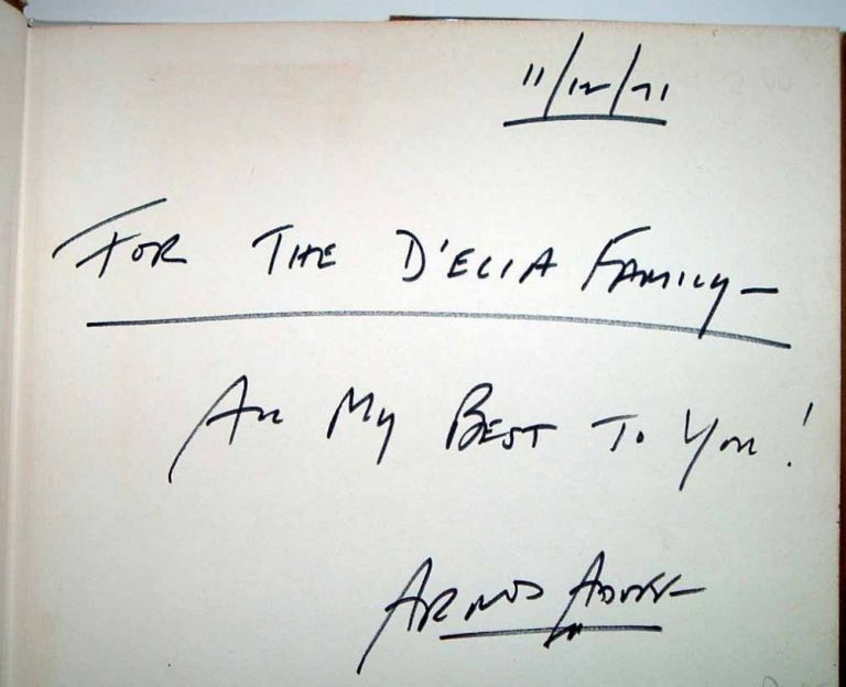 It Is the Poem Singing You're your Eyes. Anthology of New Young Poets. Arnold ADOFF