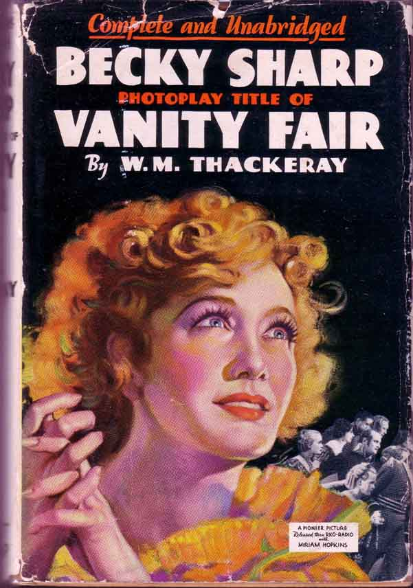 Becky Sharp Photoplay Title Of Vanity Fair William M