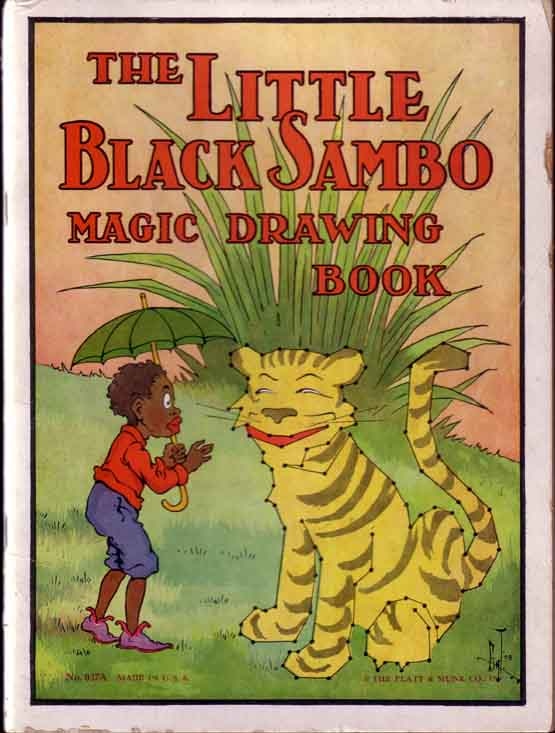 The Little Black Sambo Magic Drawing Book. Helen BANNERMAN.