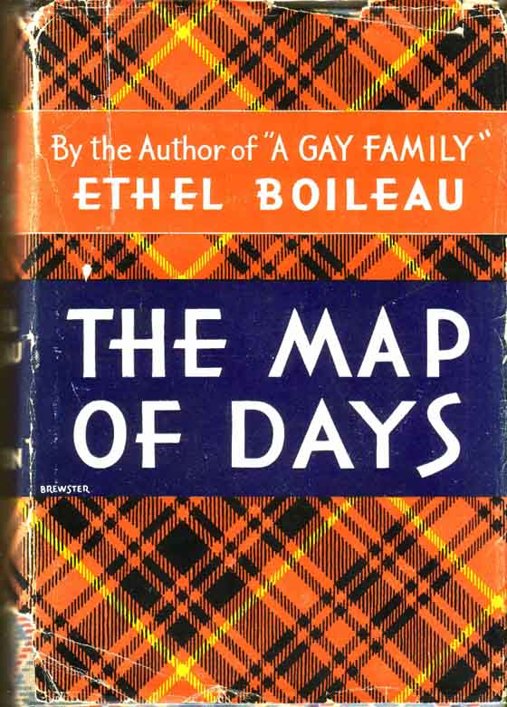 The Map of Days. Ethel BOILEAU.