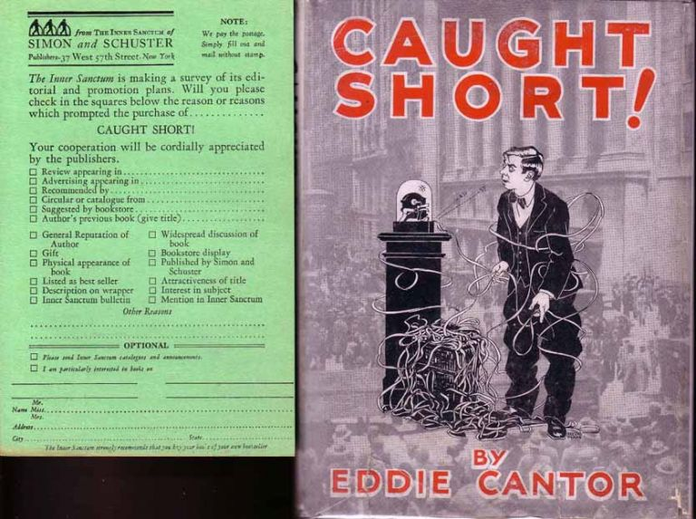 Caught Short! (WALL-STREET FICTION). Eddie CANTOR