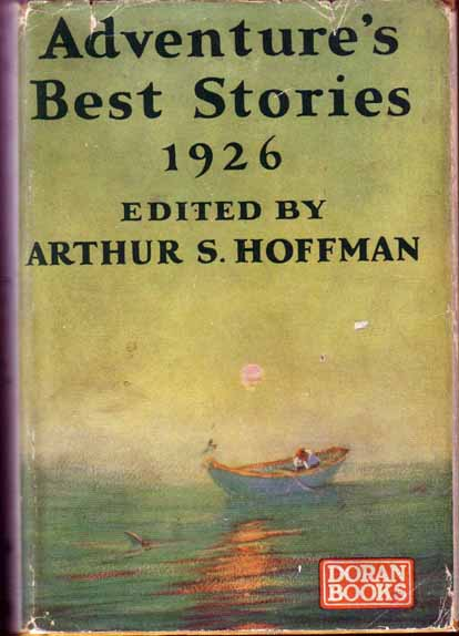 Adventure's Best Stories 1926. Alan LEMAY, Arthur S. HOFFMAN