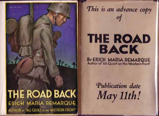 The Road Back. Erich Maria REMARQUE