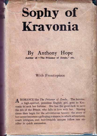 Sophy of Kravonia. Anthony HOPE