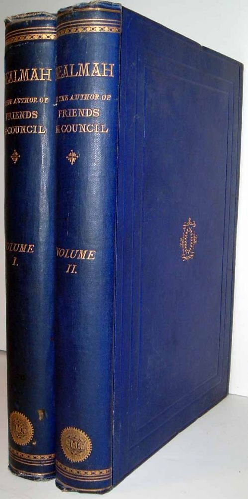 "Realmah: By the Author of ""Friends in Council."" In Two Volumes. Sir Arthur HELPS, ANONYMOUS"