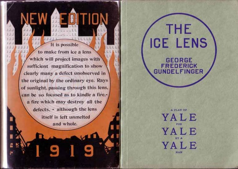 The Ice Lens [Yale University Theatrical Play]. George Frederick GUNDELFINGER