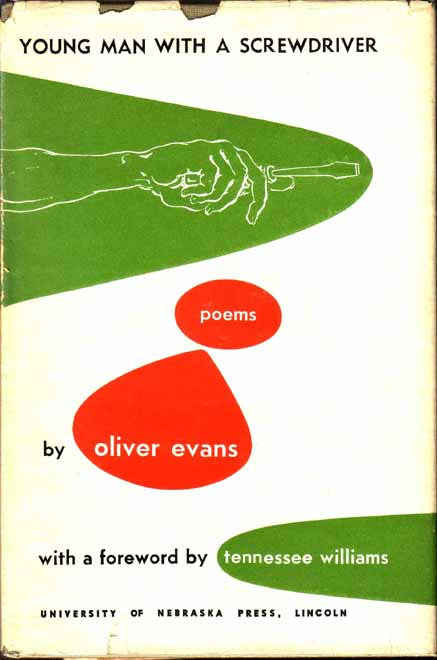 Young Man with a Screwdriver. Oliver EVANS, Tennessee WILLIAMS.