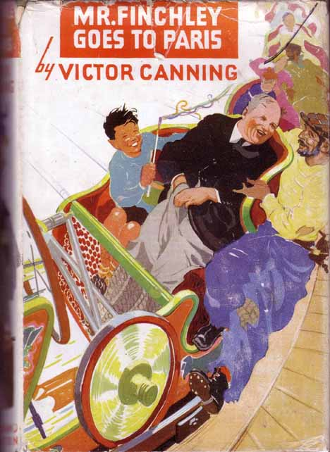 Mr. Finchley Goes to Paris. Victor CANNING
