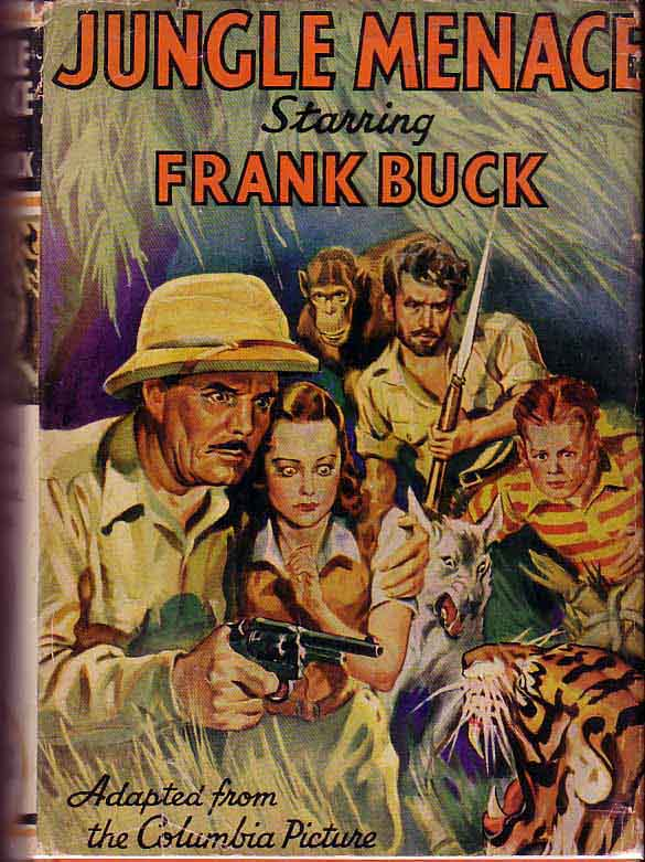 Jungle Menace, Starring Frank Buck. Charles LAWTON