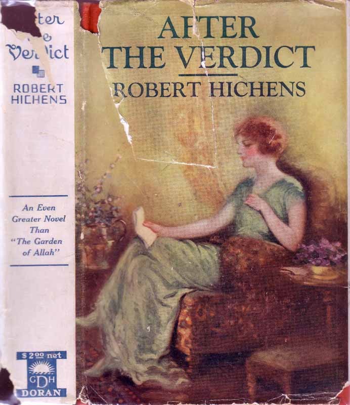 After the Verdict. Robert HICHENS