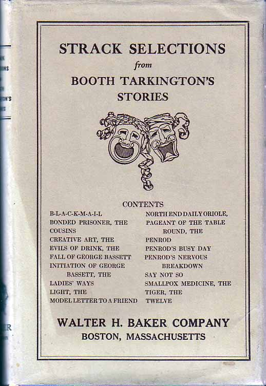Strack Selections from Booth Tarkington's Stories. Lilian Holmes STRACK, arranger, Booth TARKINGTON