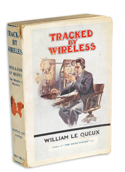 Tracked by Wireless. William LE QUEUX