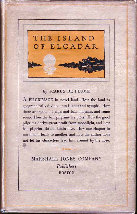 The Island of Elcadar: A Pilgrimage in Novel-Land. Icarus De PLUME