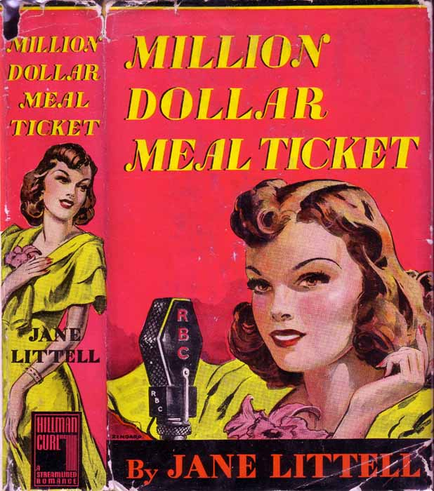 Million Dollar Meal Ticket (COSMETICS FICTION). Jane LITTELL