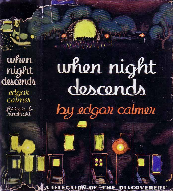 When Night Descends. Edgar CALMER.