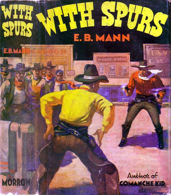 With Spurs. E. B. MANN