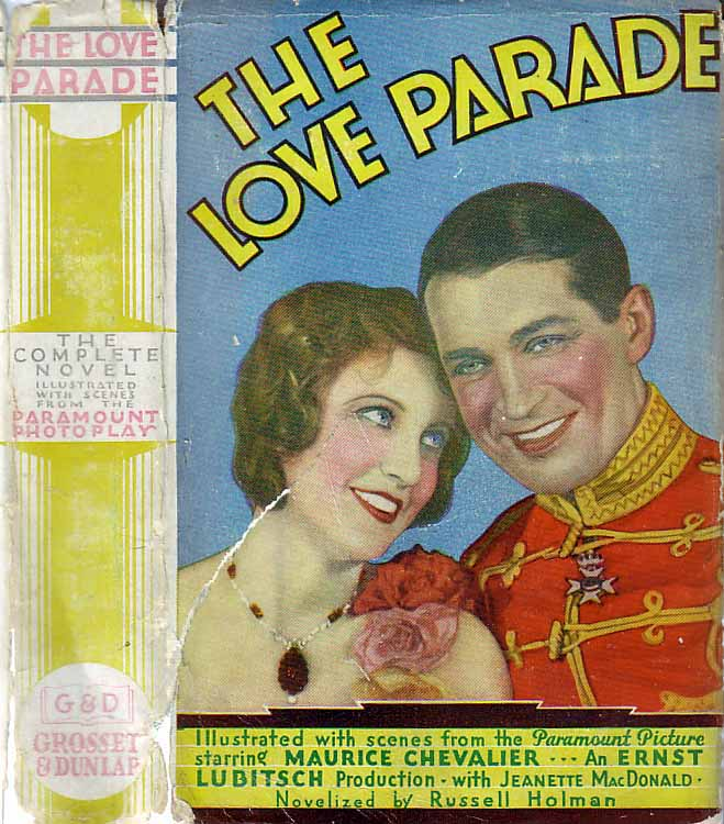 The Love Parade. Russell HOLMAN