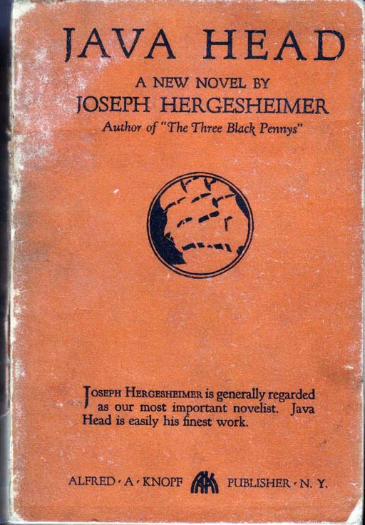 Java Head [DRUG FICTION]. Joseph HERGESHEIMER