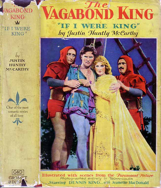 The Vagabond King. Justin Huntly McCARTHY