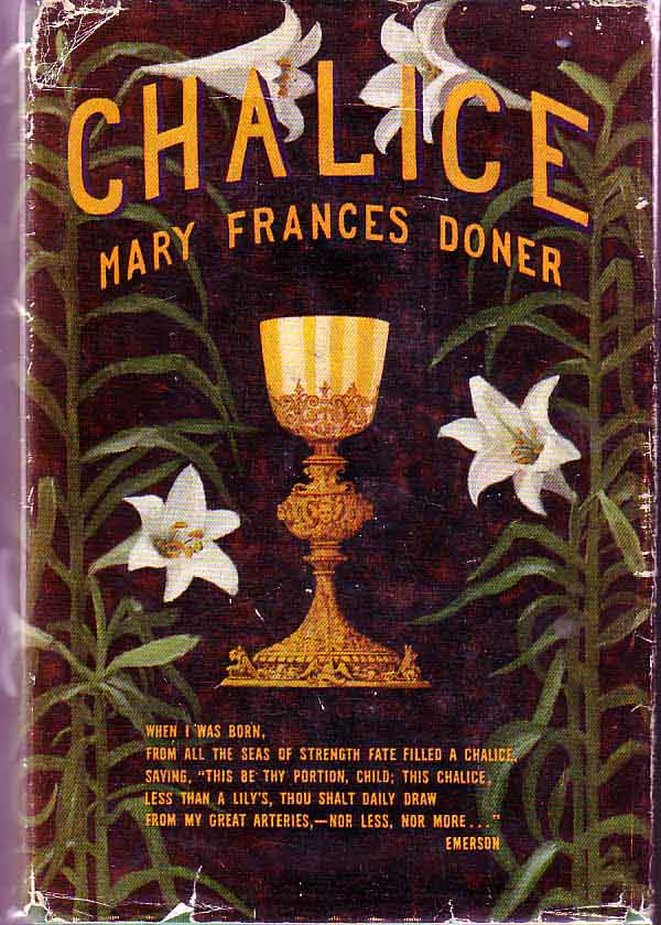 Chalice. Mary Frances DONER.