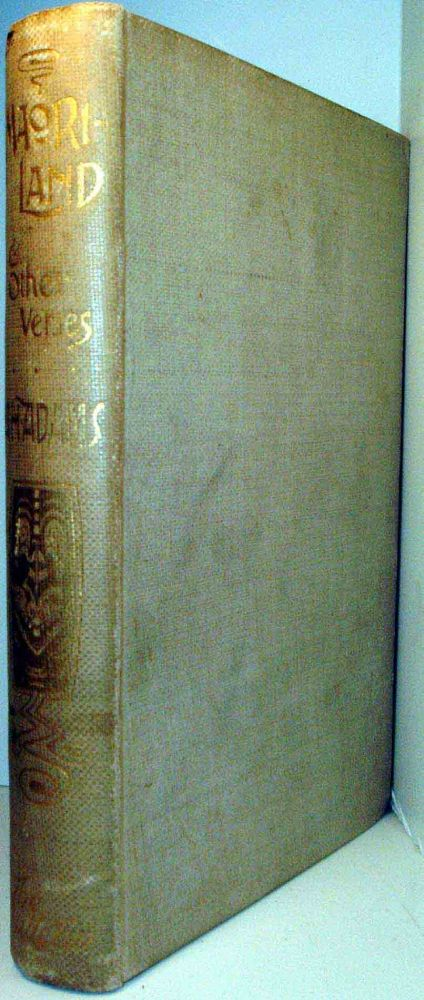 Maoriland: And Other Verses. Arthur H. ADAMS