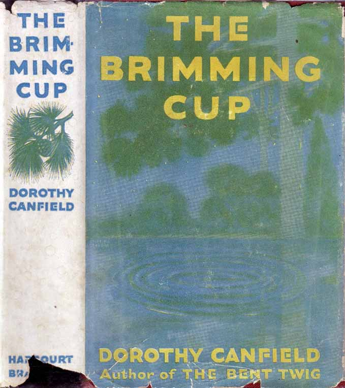 The Brimming Cup. Dorothy CANFIELD