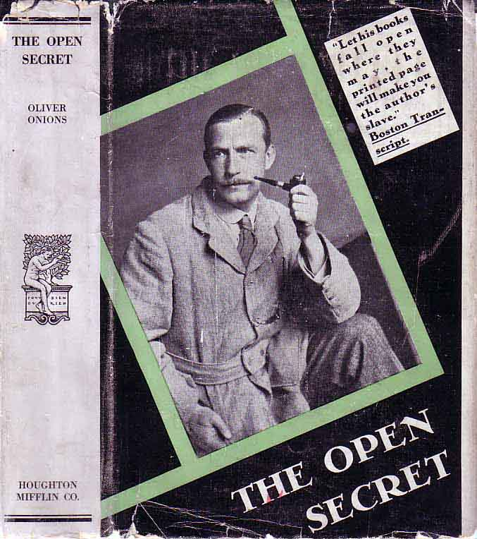 The Open Secret. Oliver ONIONS