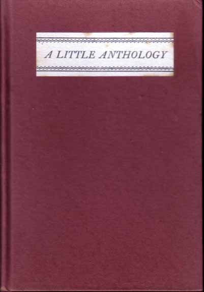 A Little Anthology of Very Short Poems From the Magazines of 1921. Robert FROST