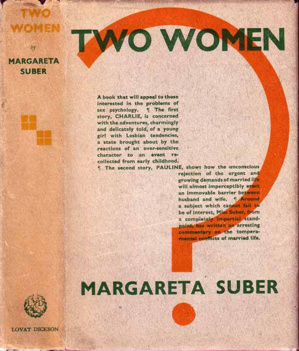 Two Women [LESBIAN FICTION]. Margareta SUBER