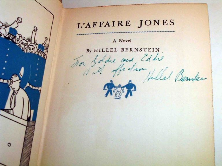 L'Affaire Jones. Hillel BERNSTEIN.