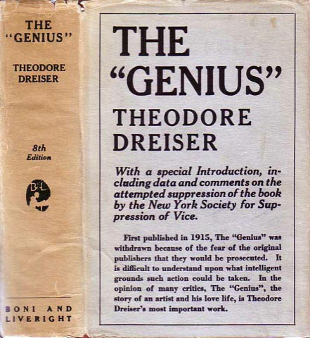"The ""Genius"". Theodore DREISER."