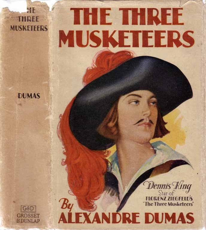 The Three Musketeers, or The Three Guardsmen. Alexander DUMAS.