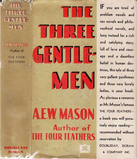 The Three Gentlemen. A. E. W. MASON.