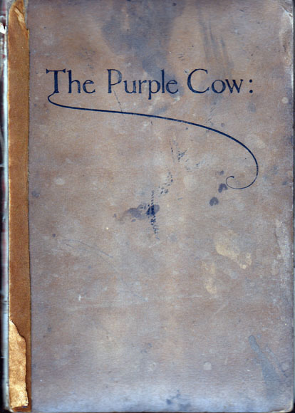 The Purple Cow (Signed). Gelett BURGESS