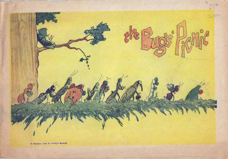 The Bugs' Picnic. Alexander C. BROWN.