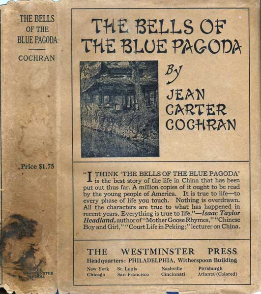 The Bells of the Blue Pagoda. Jean Carter COCHRAN.