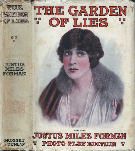 The Garden of Lies. Justis Miles FORMAN, Justus.