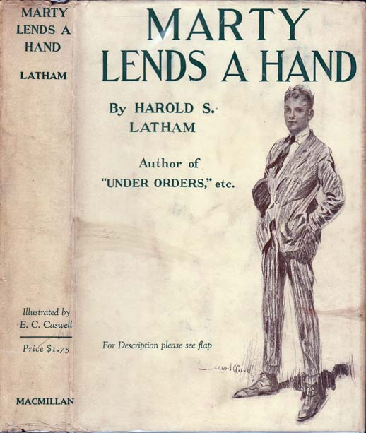 Marty Lends a Hand [BUSINESS FICTION]. Harold S. LATHAM.