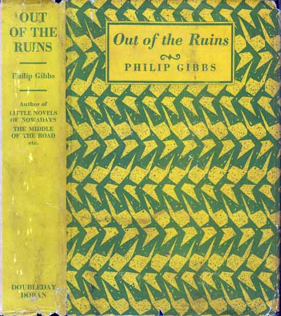Out of the Ruins and Other Little Novels. Philip GIBBS