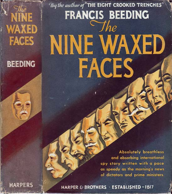 The Nine Waxed Faces. Francis BEEDING