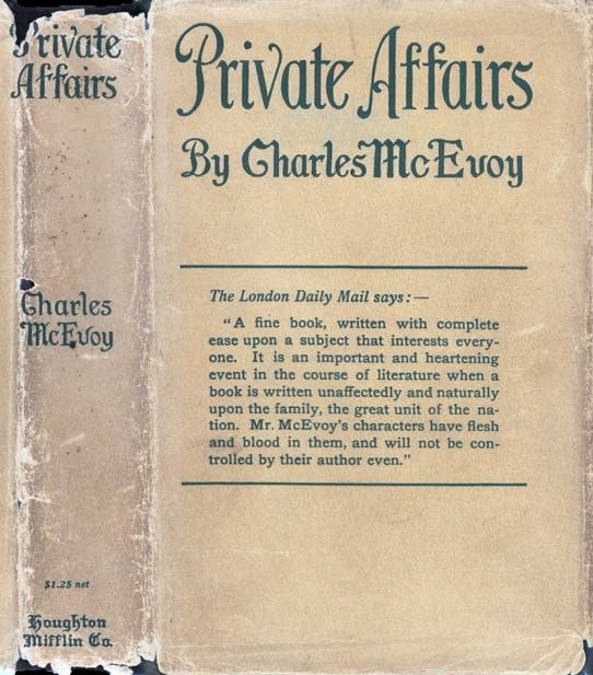 Private Affairs. Charles McEVOY