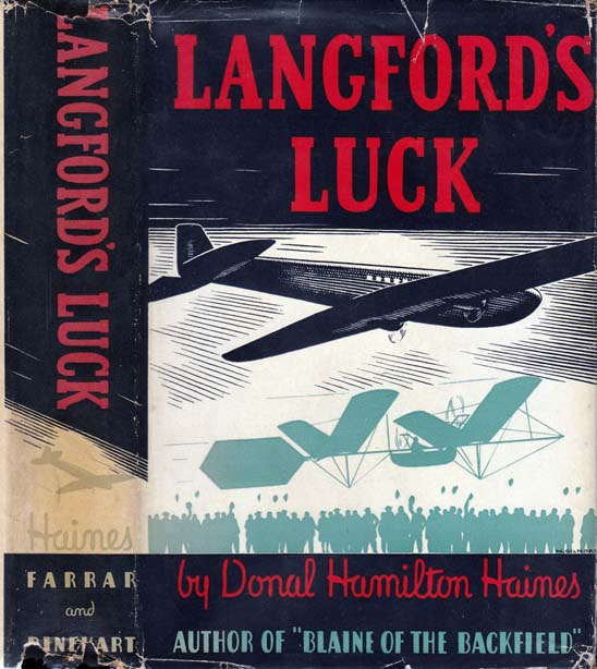 Langford's Luck [AVIATION FICTION]. Donal Hamilton HAINES