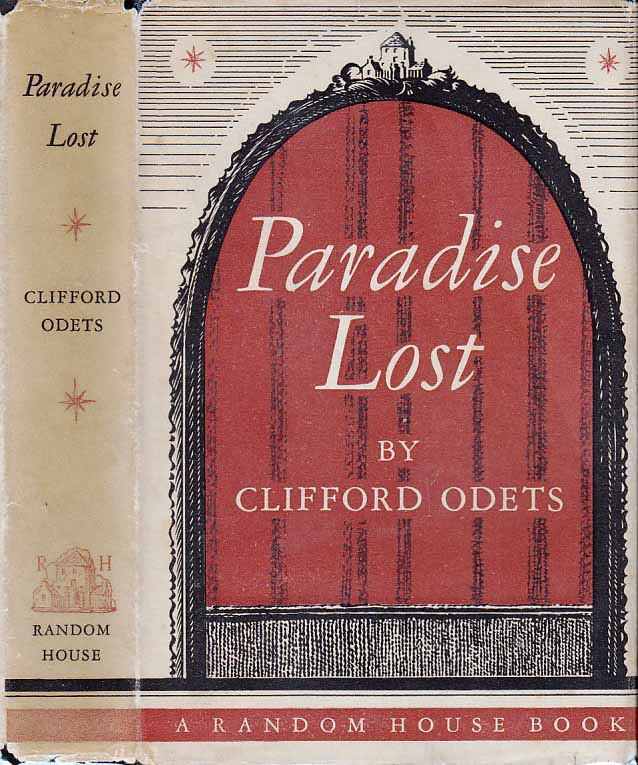 Paradise Lost, A Play in Three Acts. Clifford ODETS