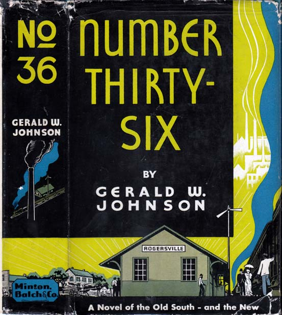 Number Thirty-Six. Gerald W. JOHNSON