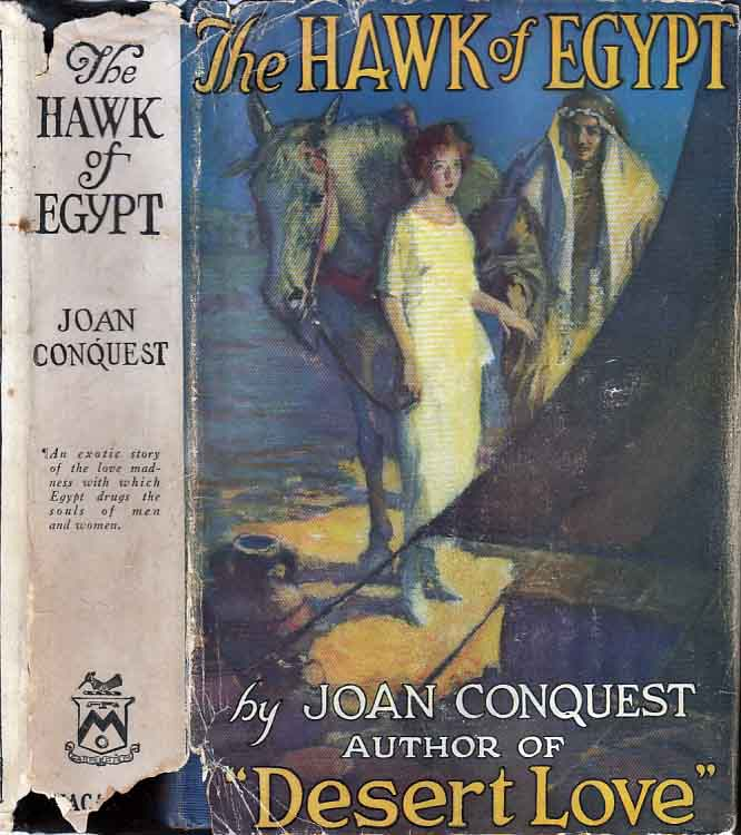 The Hawk of Egypt. Joan CONQUEST.