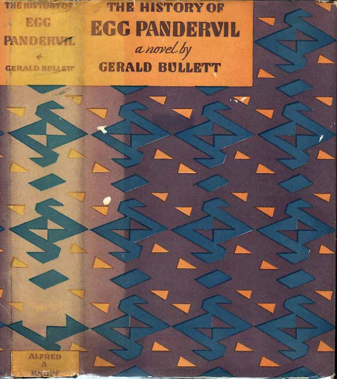 The History of Egg Pandervil. Gerald BULLETT.