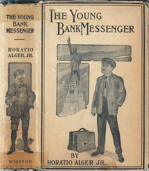 The Young Bank Messenger. Horatio Jr ALGER